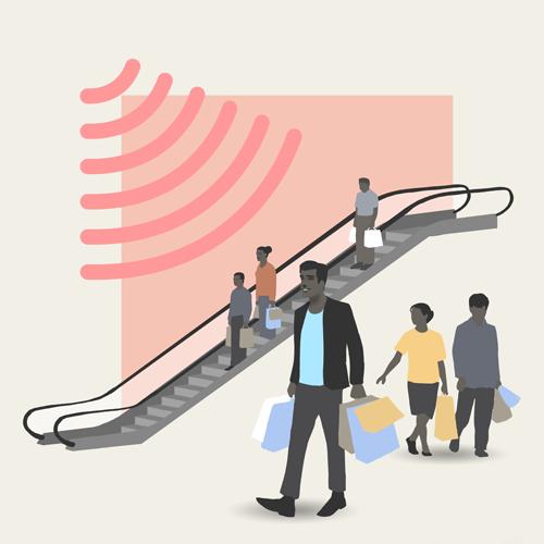 Broadkarsten kan leverer musik styling til Shopping og handel